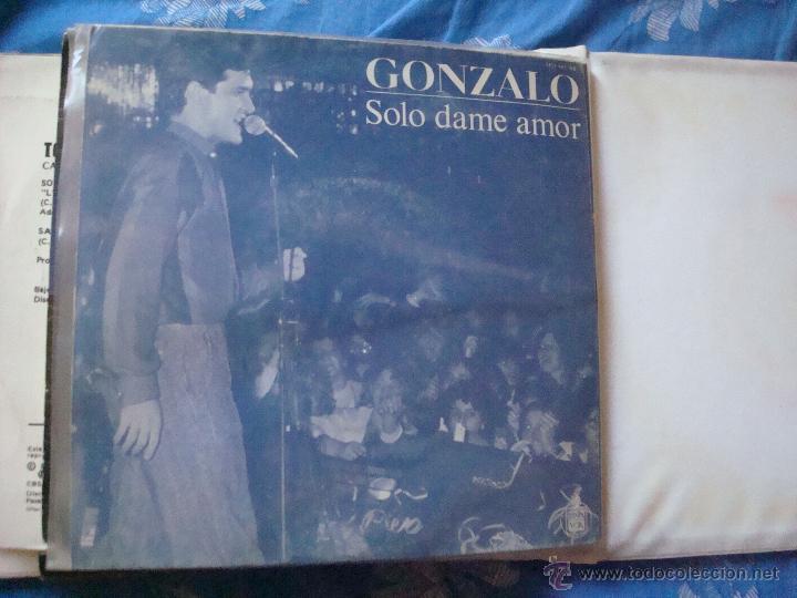 SINGLE GONZALO-SOLO DAME AMOR (Música - Discos - Singles Vinilo - Otros estilos)