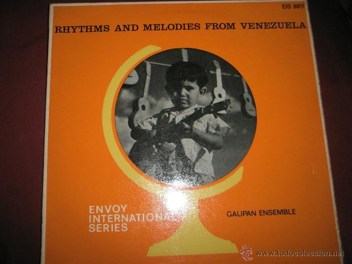 LP-VINILO-GRAN BRETAÑA-RHYTHMS AND MELODIES FROM VENEZUELA-1966-GALIPAN ENSEMBLE-BUEN ESTADO. (Música - Discos - LP Vinilo - Grupos y Solistas de latinoamérica)