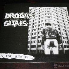 Discos de vinilo: EP DROGAS GUAIS EN ESE RINCON 1991 TRALLA RECORDS. Lote 42393850