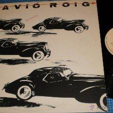 Discos de vinilo: L'AVIO ROIG MAXI PROMOCIONAL COCHES NEGROS ESPAÑA 1985. Lote 42395103