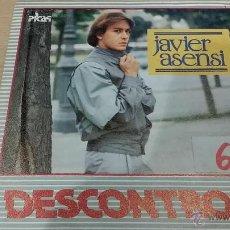 Discos de vinilo: JAVIER ASENSI - DESCONTROL - VEN NO DUDES MAS - 1984 BUSCADO. Lote 42408795