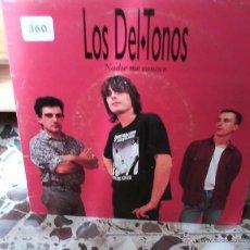 Discos de vinilo: SINGLE DE VINILO PROMO LOS DELTONOS NADIE ME CONOCE TRES CIPRESES/DRO 1992. Lote 42418751