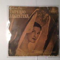 Discos de vinilo: EP IMPERIO ARGENTINA - FLAMENCO ODEON ANTERIOR 1958. Lote 42421953
