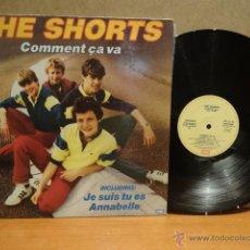 Discos de vinilo: THE SHORTS. COMMENT ÇA VA. LP / EMI - 1983. BUENA CALIDAD. ***/***. Lote 42422294
