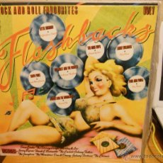 LP FLASHBACKS-VOL.1-20 ROCK AND ROLL FAVOURITES-(VARIOS).1979