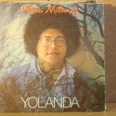 Discos de vinilo: PABLO MILANES - YOLANDA / YO ME QUEDO - EGREM-AREITO-MOVIEPLAY 02.3480/7 - 1982 - PROMOCIONAL. Lote 42424452
