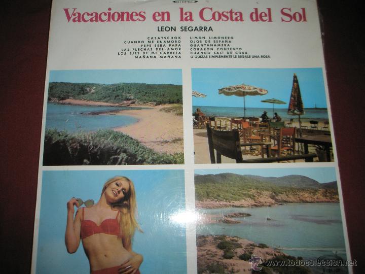 LP-VINILO-ESPAÑA-VACACIONES EN LA COSTA DEL SOL-1969-12 TEMAS-MOVIE PLAY-. (Música - Discos - LP Vinilo - Solistas Españoles de los 50 y 60)
