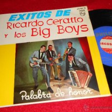 Discos de vinilo: RICARDO CERATTO BIG BOYS PALABRA DE HONOR/BOSSA NOVA EN ESPAÑA +2 EP 1964 PHILIPS EX. Lote 42430749
