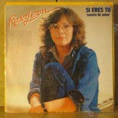 Discos de vinilo: ROSA LEON - SI ERES TU / ROSA SE ESTA BUSCANDO EN EL ESPEJO - MOVIEPLAY 02.3626/1 - 1983. Lote 42435656