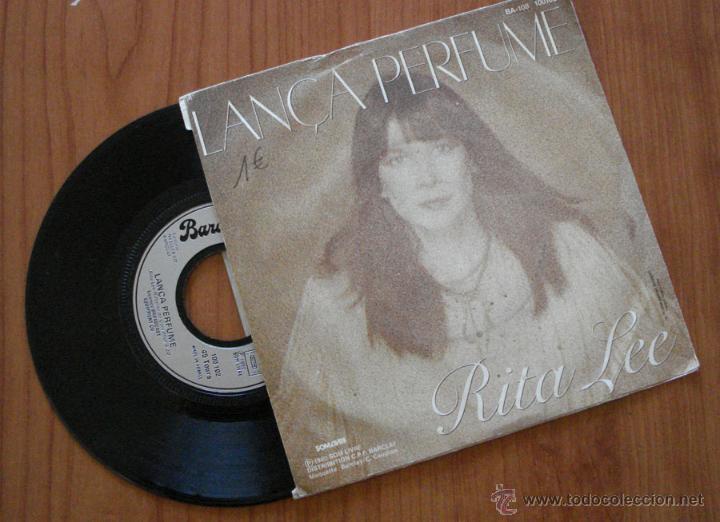 RITA LEE, LANÇA PERFUMI. SINGLE DE VINILO; EDICIÓN FRANCESA- 1980 VERSION ORIGINAL (Música - Discos de Vinilo - Singles - Pop - Rock Internacional de los 80)
