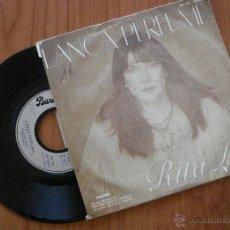 Discos de vinilo: RITA LEE, LANÇA PERFUMI. SINGLE DE VINILO; EDICIÓN FRANCESA- 1980 VERSION ORIGINAL. Lote 42435800