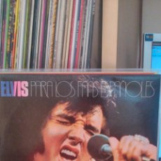 Discos de vinilo: ELVIS PRESLEY - PARA LOS FANS ESPAÑOLES 2 LPS. Lote 42437576