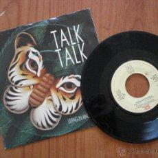 Discos de vinilo: TALK TALK; LIVING IN ANOTHER WORLD / FOR WHAT IT'S WORRTH, SINGLE DE VINILO 1986. Lote 42437484