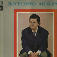 Discos de vinilo: ANTONIO MOLINA LP SELLO EMI REGAL AÑO 1972. Lote 42440700