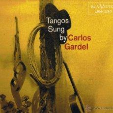 Discos de vinilo: TANGOS SUNG BY CARLOS GARDEL - FOTO ADICIONAL. Lote 42446085