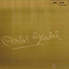 Discos de vinilo: CARLOS GARDEL - HABLA Y CANTA EN SUS PELICULAS - FOTO ADICIONAL. Lote 42446231
