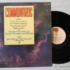 Discos de vinilo: THE COMMUNAROS THE MULTIMIX MAXI SPAIN 1986 RAREZA. Lote 42448376