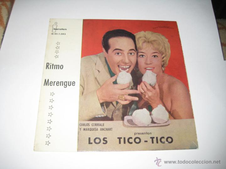 LOS TICO TICO - EP RITMO MERENGUE (Música - Discos - Singles Vinilo - Grupos y Solistas de latinoamérica)