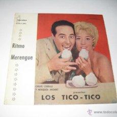 Discos de vinilo: LOS TICO TICO - EP RITMO MERENGUE. Lote 42460682