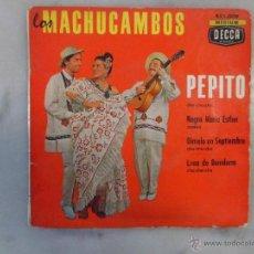 Discos de vinilo: LOS MACHUCAMBOS. PEPITO. NEGRA MARIA ESTHER Y OTROS. EP DECCA FRANCIA. Lote 42461038