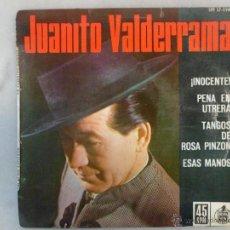 Discos de vinilo: JUANITO VALDERRAMA. ¡INOCENTE! Y OTRAS CANCIONES. EP HISPAVOX. Lote 42461218