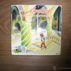 Discos de vinilo: ALADINO Y LA LAMPARA MARAVILLOSA. EKIPO 1969. TROQUELADO EN INTERIOR. Lote 42462340