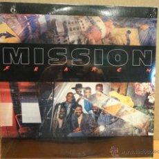 Discos de vinilo: MISSION. SEARCH. LP / CBS-USA - 1987. PRECINTADO SIN USAR. TALADRO DESCATALOGACIÓN. *****. Lote 42462362