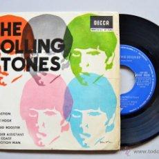 Discos de vinilo: THE ROLLING STONES-OFF THE HOOK…SATISFACTION (DECCA EP 1965) SPÑ. Lote 50559041