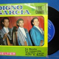 Discos de vinilo: - DIGNO GARCÍA Y SUS CARIOS - LA BAMBA + 3 - BELTER 1968. Lote 42465076