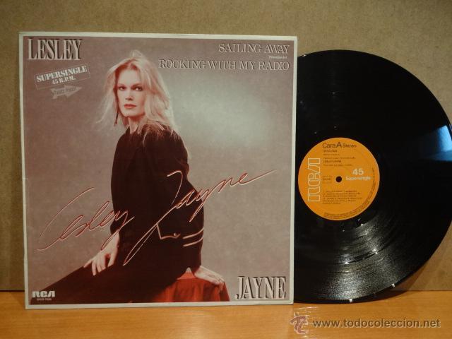 LESLEY JAYNE. SAILING AWAY. MAXI SINGLE / RCA -1982. BUENA CALIDAD. ***/*** (Música - Discos de Vinilo - Maxi Singles - Pop - Rock - New Wave Internacional de los 80)
