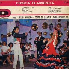 Discos de vinilo: FIESTA FLAMENCA - PEPE DE ALMERIA - PEDRO DE LINARES - CARBONERILLO DE JEREZ. Lote 42470204