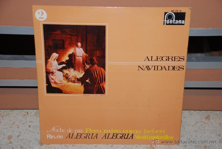 ALEGRES NAVIDADES LP (Música - Discos - LP Vinilo - Otros estilos)