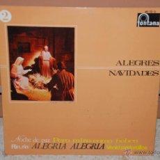Discos de vinilo: ALEGRES NAVIDADES LP. Lote 42476535