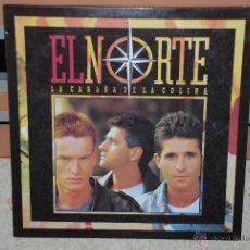 Disques de vinyle: EL NORTE LP *LA CABAÑA DE LA COLINA*. Lote 42482540