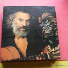 Discos de vinilo: GEORGES MOUSTAKI : SI JE POUVAIS T AIDER LP1979 CARPETA DOBLE POLYDOR PEPETO. Lote 42489368