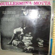 Discos de vinilo: GUILLERMINA MOTTA -EP ELS SNOBS - EDIGSA 1964 . Lote 42492650