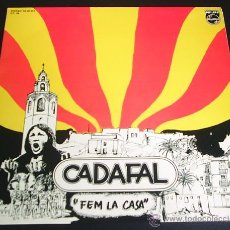 Discos de vinilo: CADAFAL - FEM LA CASA - LP DE VINILO (PHILIPS, 1977) + CD DE REGALO DEL MISMO DISCO.. Lote 42501204