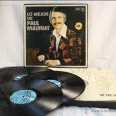 Discos de vinilo: 8 DISCOS LP VINILO - LO MEJOR DE PAUL MAURIAT - EDITA READER'S DIGEST / PHILIPS - 1976 - ESPAÑA. Lote 42505885