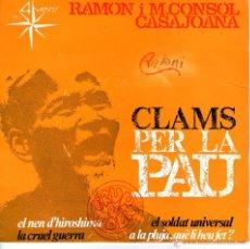Discos de vinilo: RAMON I M.CONSOL CASAJOANA . Lote 42506527