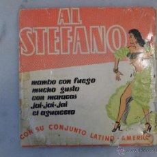 Discos de vinilo: AL STEFANO MAMBO CON FUEGO Y OTRAS CANCIONES. EP BELTER. Lote 42506768
