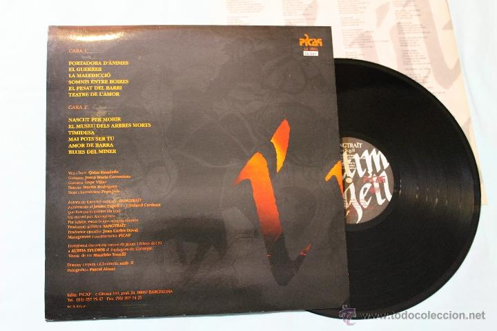 Discos de vinilo: SANGTRAIT L'ULTIM SEGELL LP VINIL PICAP - Foto 2 - 42507678