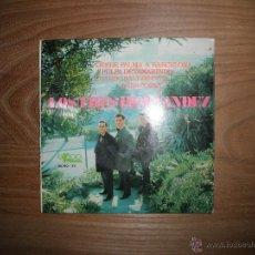 Discos de vinilo: LOS TRES HERNANDEZ. PULPA TAMARINDO + 3. EKIPO 1967. Lote 42508856
