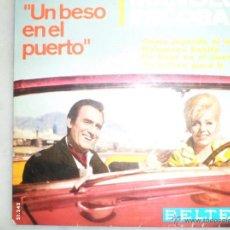 Discos de vinilo: MANOLO ESCOBAR. BANDA SONORA DEL FILM UN BESO EN EL PUERTO. EP. BELTER. Lote 42509651