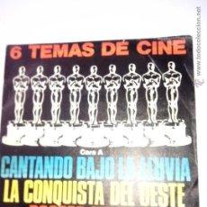 Discos de vinilo: DISCO REGALO URBION. BSO (1980) CANTANDO BAJO LA LLUVIA. DOCTOR ZHIVAGO. 2001 ODISEA EN EL ESPACIO. Lote 42512668