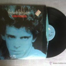 Discos de vinilo: LP LOU REED-ROCK AND ROLL HEART-UK 1976. Lote 42512870