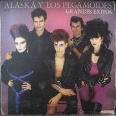 Discos de vinilo: ALASKA Y LOS PEGAMOIDES - GRANDES ÉXITOS. - LP HISPAVOX 1982. Lote 42514825