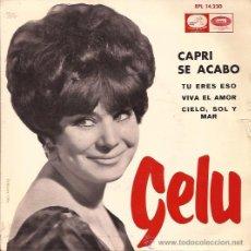 Discos de vinilo: EP-GELU CAPRI SE ACABO-VSA 14230-1965. Lote 42526543