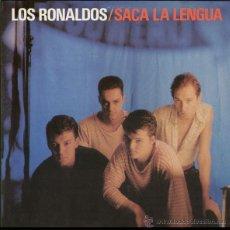 Discos de vinilo: LOS RONALDOS, SACA LA LENGUA LP. Lote 42527401