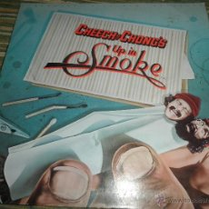 Discos de vinilo: CHEECH Y CHONG - UP IN SMOKE LP - ORIGINAL U.S.A. - WARNER BROS. 1978 - GATEFOLD COVER -. Lote 42529047