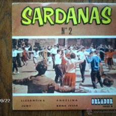 Discos de vinilo: COBLA ORLADOR - SARDANAS Nº 2 - LLEVANTINA + 3 . Lote 42535407